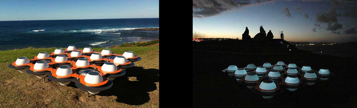 Images of Solar Echo installed at Long Reef Headland
